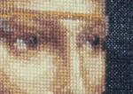 Дама с горностаем (фрагмент)