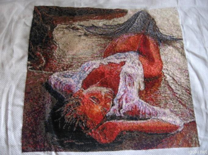Схемы для вышивки нитками dmc