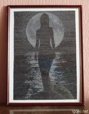 Иероглифы Лунная дорожка